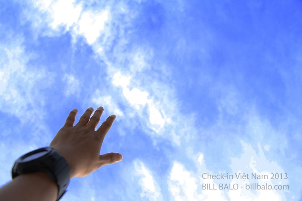 Tôi - biển và trời xanh