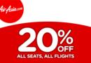 AirAsia giảm giá 20% cho các chuyến bay