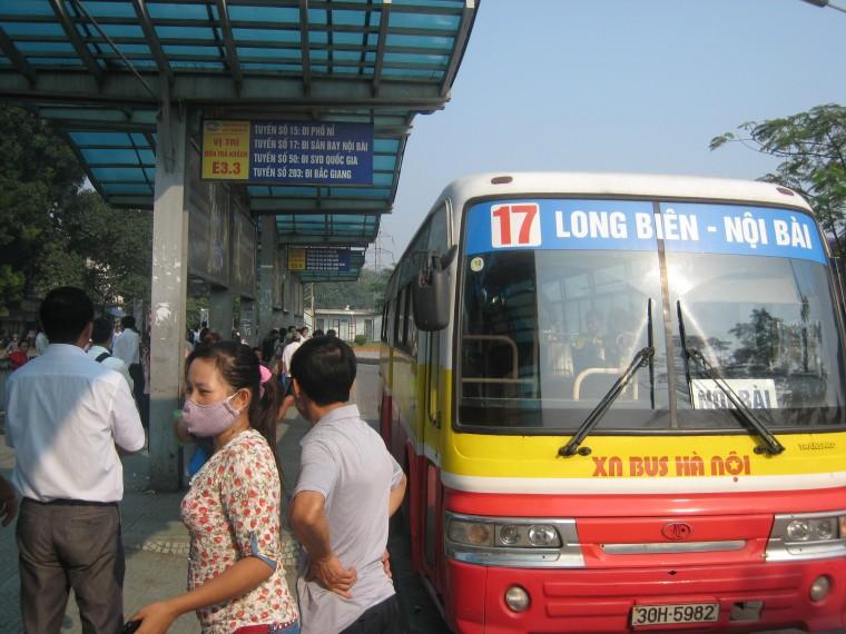 Xe bus đi sân bay Nội Bài - Hà Nội - Nội Bài cập nhật bằng Comment