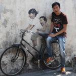 Penang khám phá nghệ thuật đường phố ở George Town