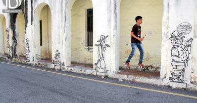 Khám phá George Town sức hút kì lạ từ phố cổ ở Penang
