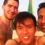 Ba chàng trai ở Phuket