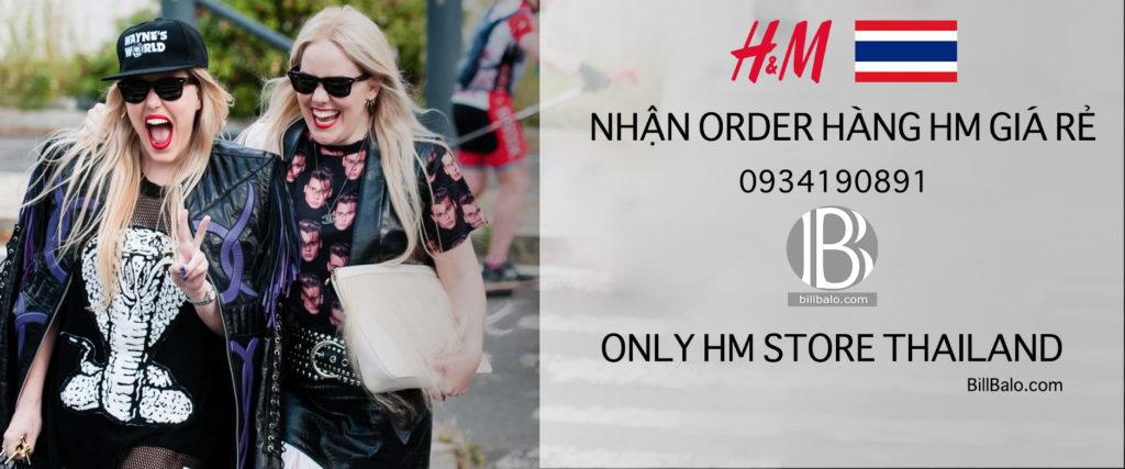 order hàng HM