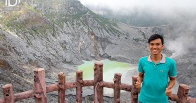 Khám phá núi lửa Tangkunban Perahu – Bandung, Indonesia