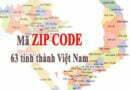 Zip Postal Code Viet Nam 6 digital – Update 2015