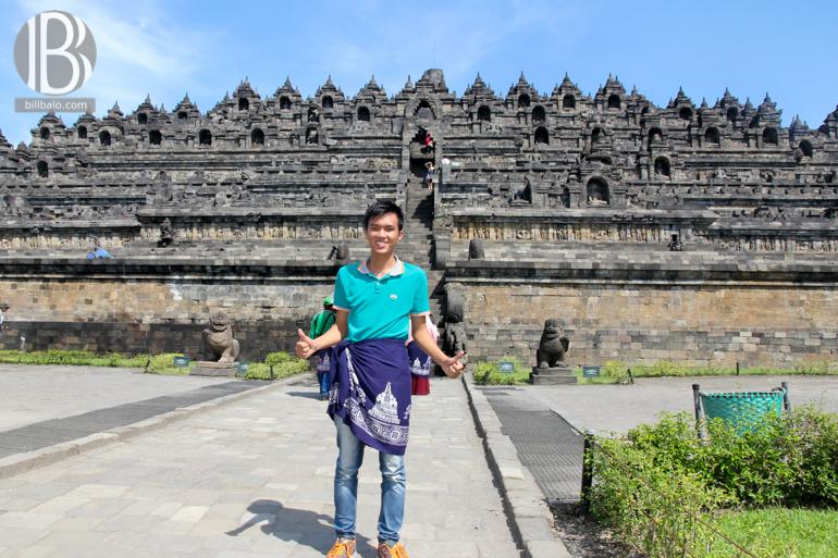 đền ngàn phật Borobudur