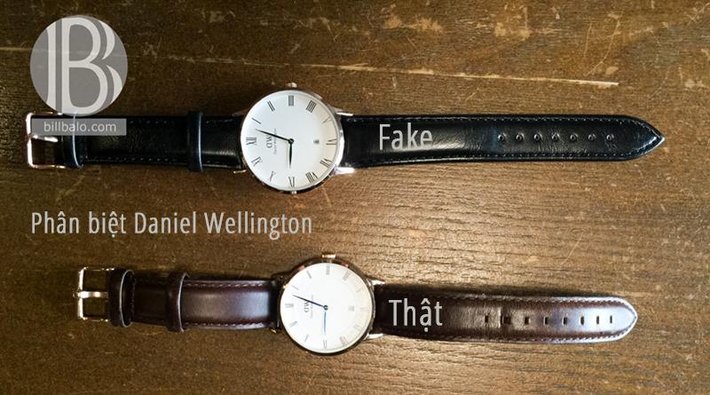 phân biệt đồng hồ Daniel Wellington thật và fake