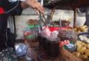 Uống cafe than đá ở JogJakarta