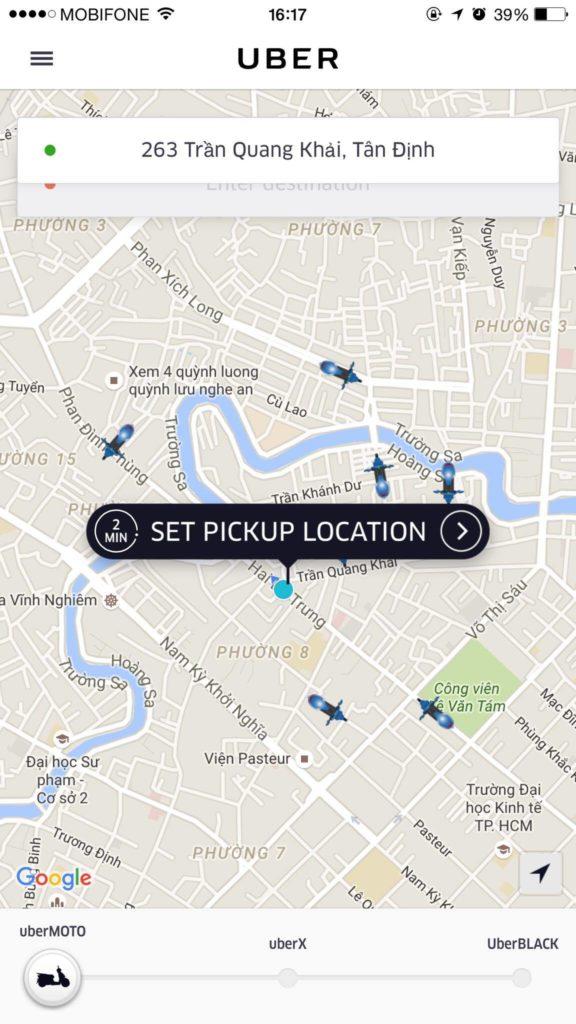 hướng dẫn sử dụng mã khuyến mãi uber