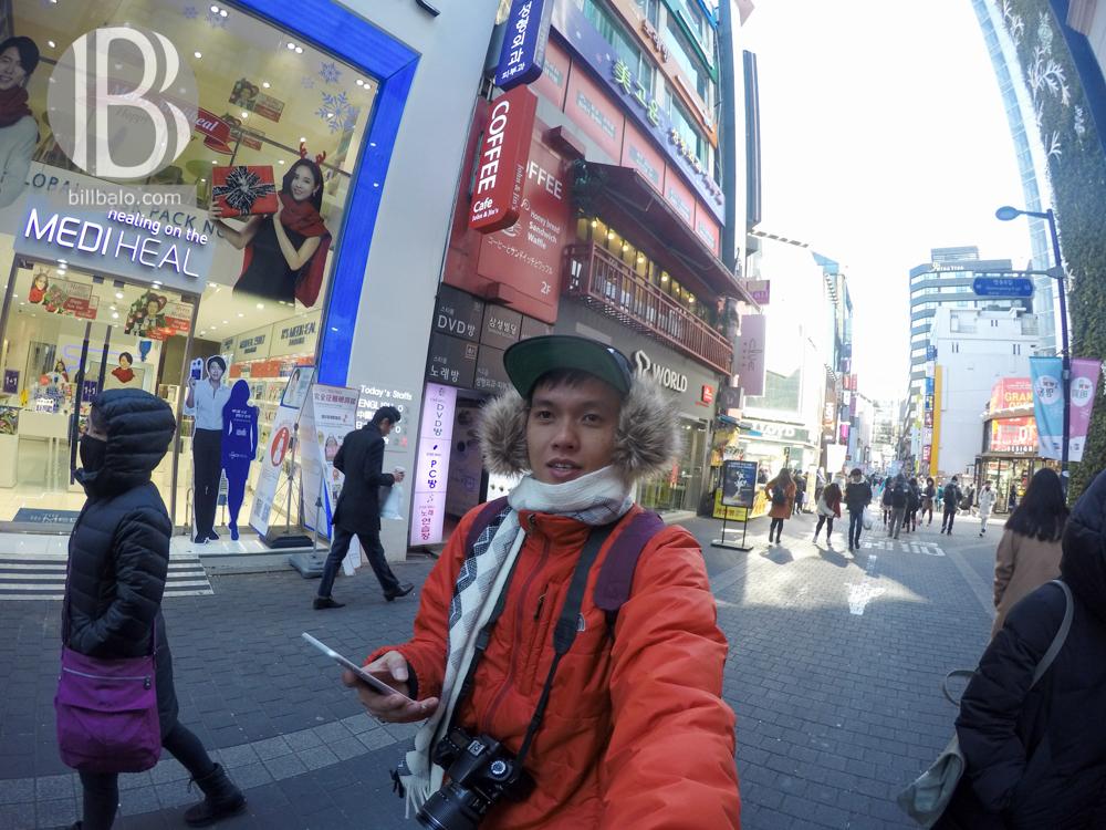 thiên đường mua sắm myeong-dong