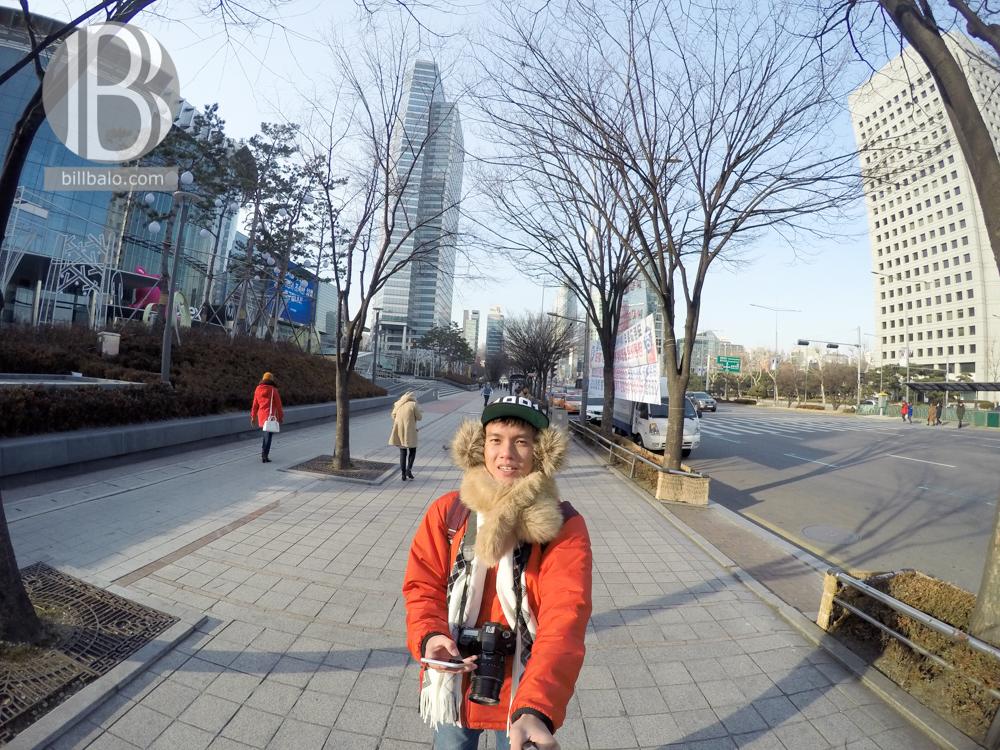 ấm khi tới Hàn Quốc