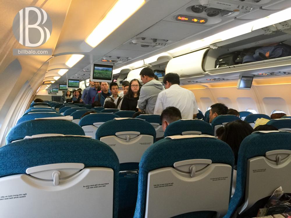bên trong máy bay airbus a320