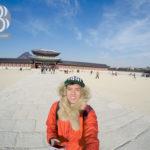 Toàn cảnh Cung điện hoàng gia Gyeongbokgung ở thủ đô Seoul