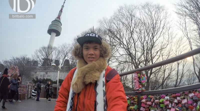 Tham quan tháp truyền hình N Seoul Tower ở núi Namsan Hàn Quốc