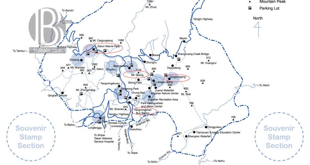 map-yangmingshan