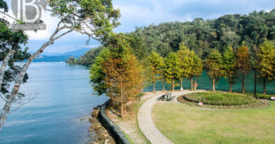 Ghé thăm Hồ Nhật Nguyệt và đi xe bus miễn phí ở Đài Trung