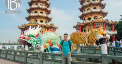 Kiến trúc chùa độc đáo quanh Đầm Liên Trì (Lotus Pond) ở Cao Hùng
