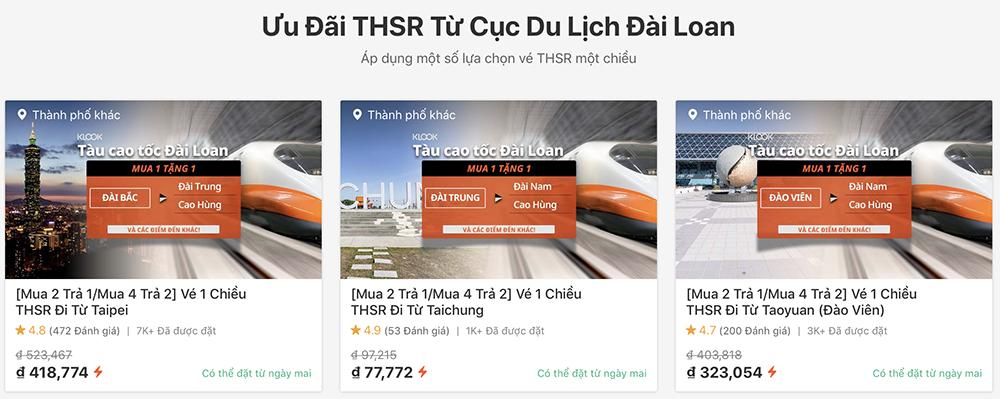 Review cách đặt vé HSR Đài Loan khi đi du lịch Đài Loan tự túc