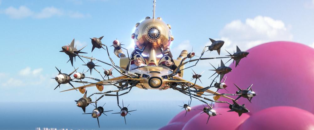 Phim Kẻ Trộm Mặt Trăng 3 - Đại gia đình Gru tái hợp ở vương quốc Lợn