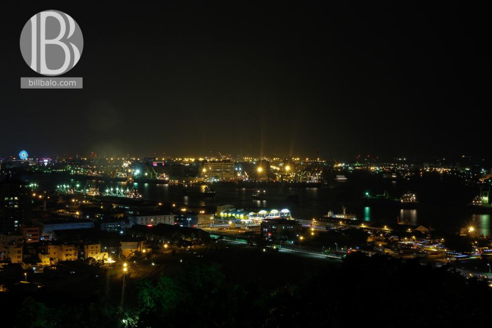 thành phố Cao Hùng về đêm