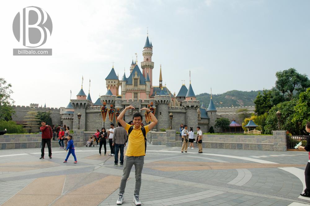 Sleeping Beauty Castle - Disneyland Hong Kong