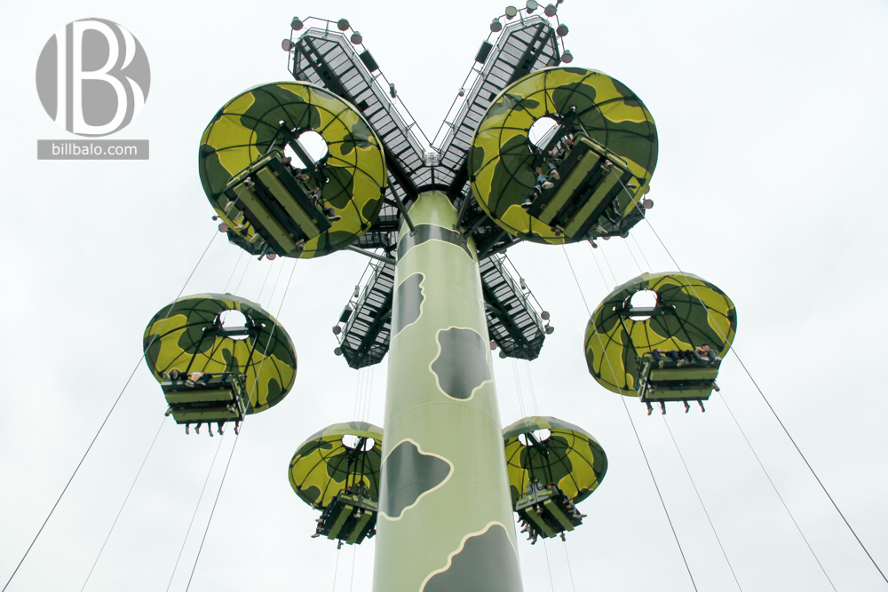 Toy Soldier Parachute Drop - Hong Kong Disneyland