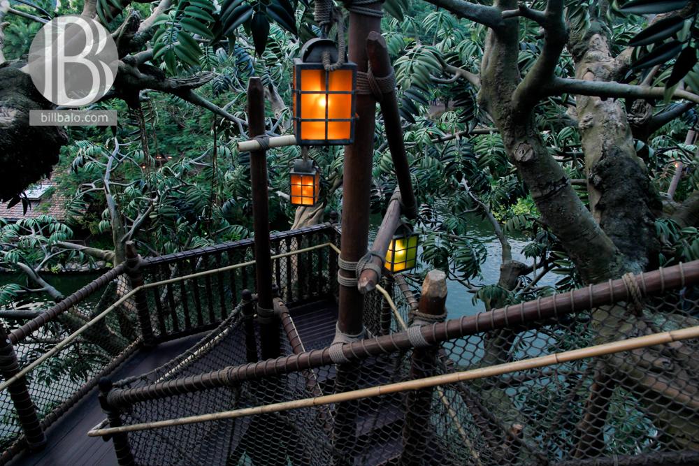 Tarzan's Treehouse - Hong Kong Disneyland