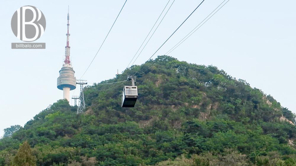 Ngắm Seoul về đêm và ăn tối trên tháp truyền hình N Seoul Tower