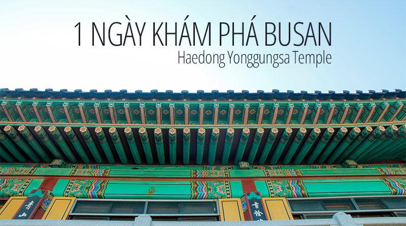 Kinh nghiệm du lịch Busan trong 1 ngày, khám phá Busan bằng xe bus