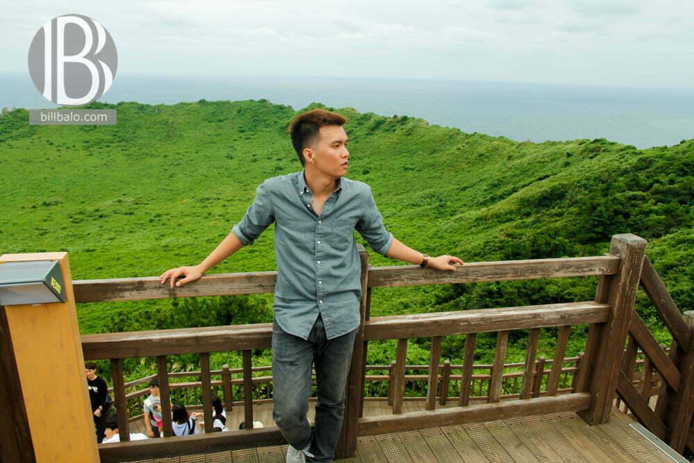 núi Seongsan Ilchulbong ở Jeju