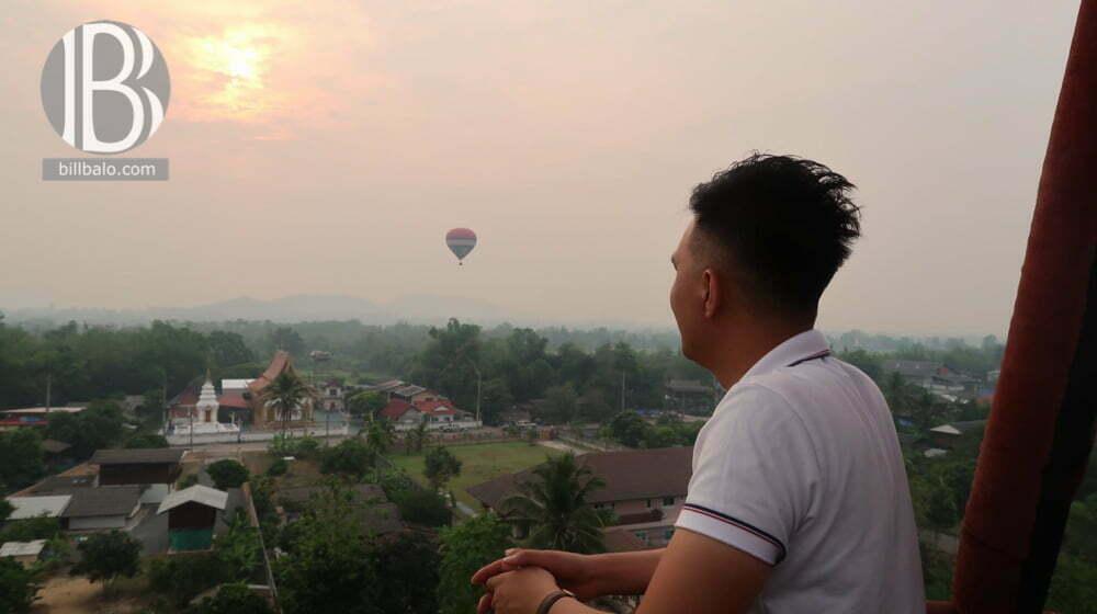 Du ngoạn Chiang Mai bằng khinh khí cầu -Hot Air Balloon Adventure Chiang Mai