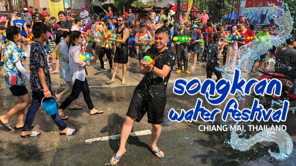 Lịch trình đi chơi Lễ hội té nước Songkran ở Thái Lan, ở đâu vui nhất?