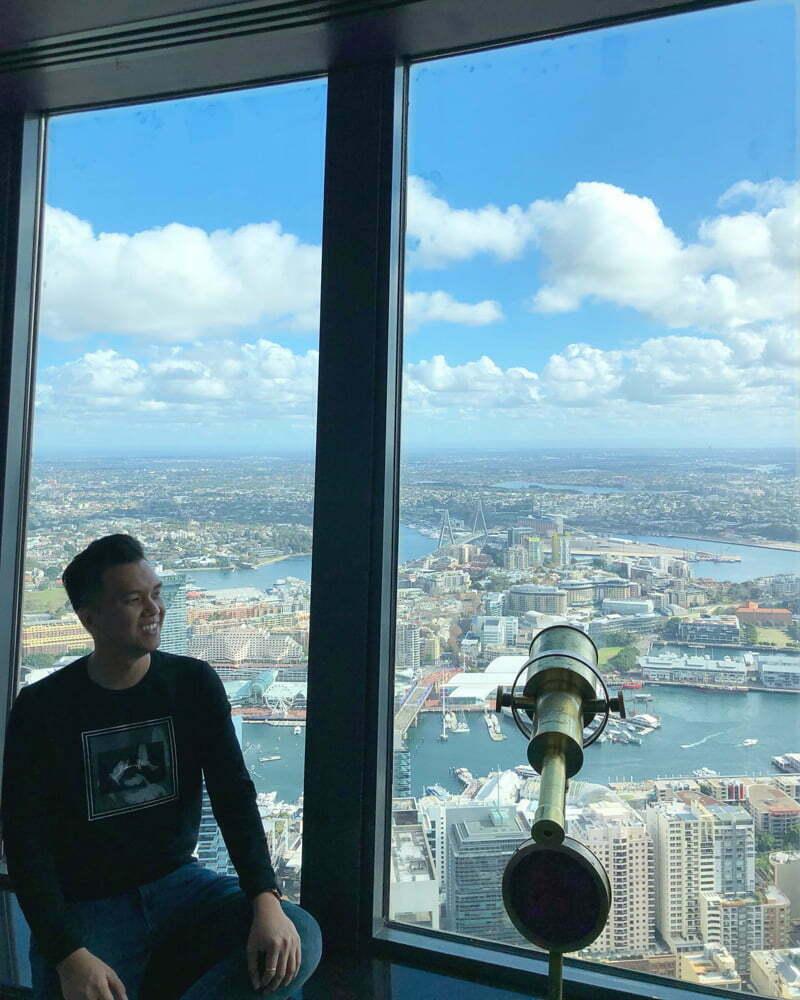 ngắm thành phố Sydney từ trên cao Sydney Tower Eye