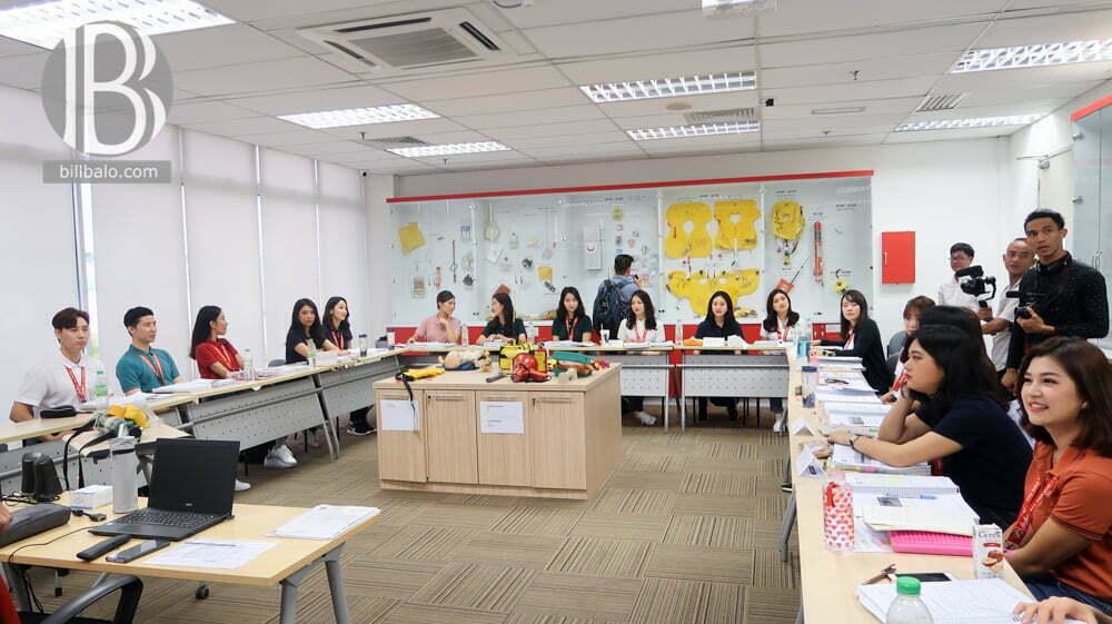 Quy trình huấn luyện tiếp viên hàng không tại AirAsia