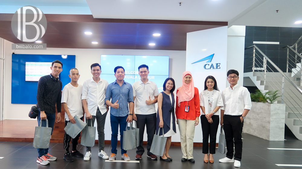 Giấc mơ bay tại CAE -Trung tâm huấn luyện bay của AiaAsia