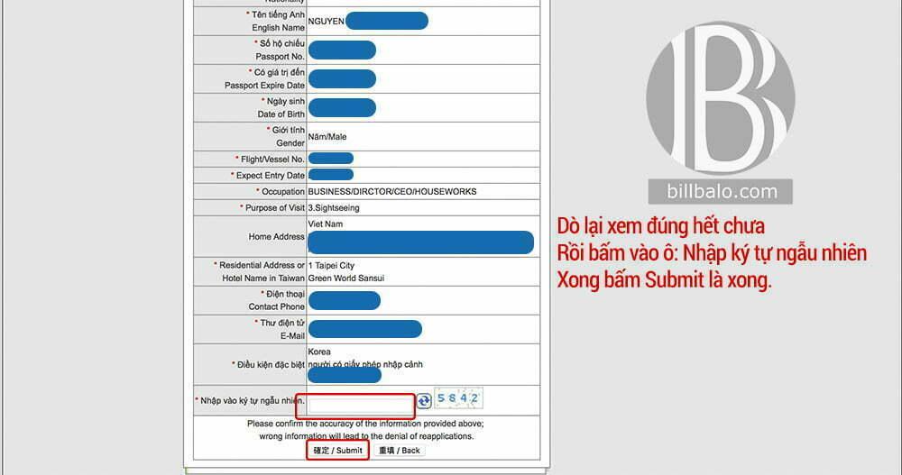 Xin Visa Đài Loan Online mới nhất và hướng dẫn chi tiết 2019
