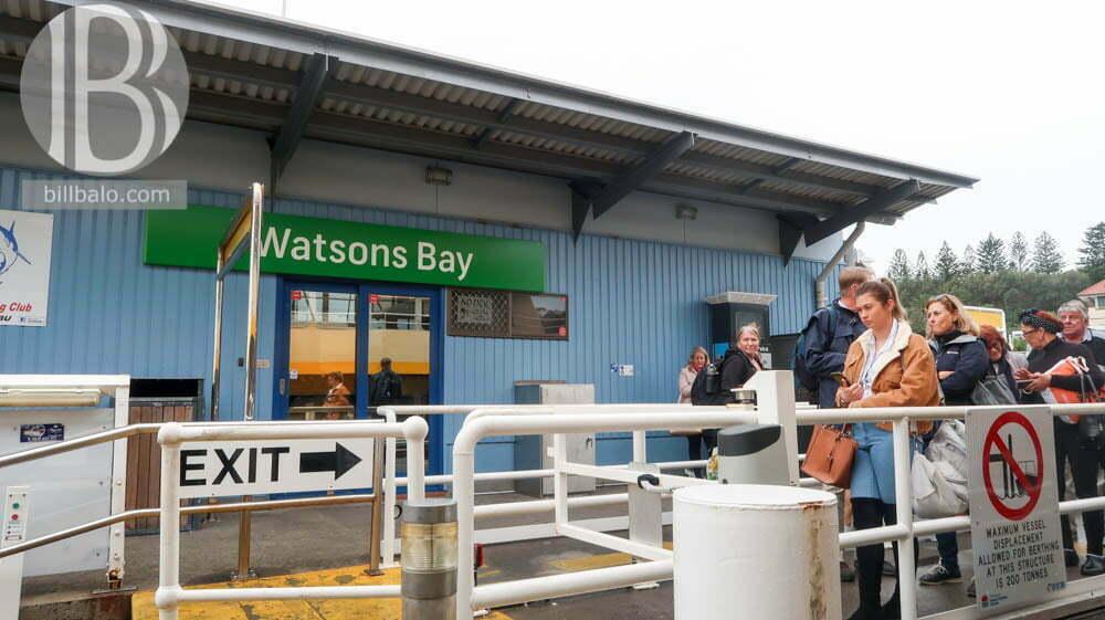 Cách đi đến Vịnh Watsons Bay