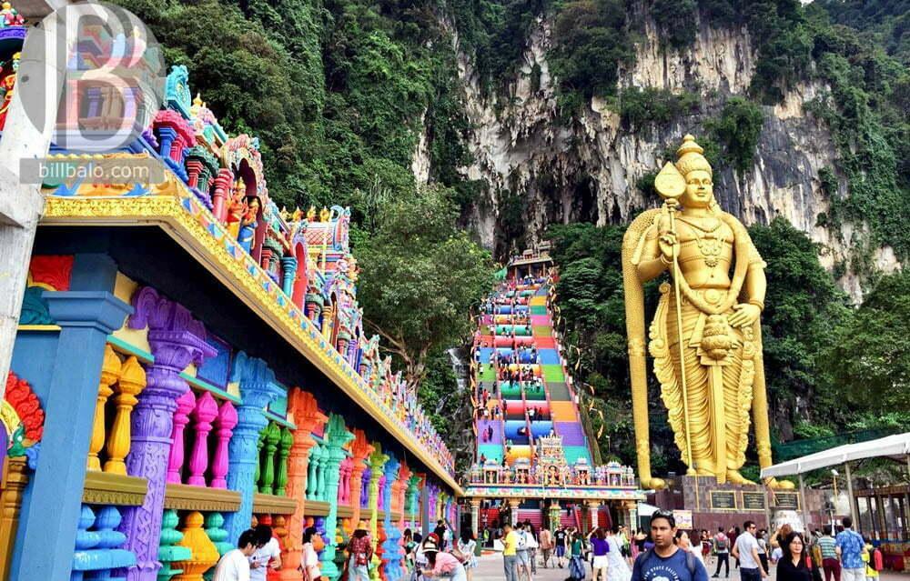 động Batu Cave ở Kuala Lumpur