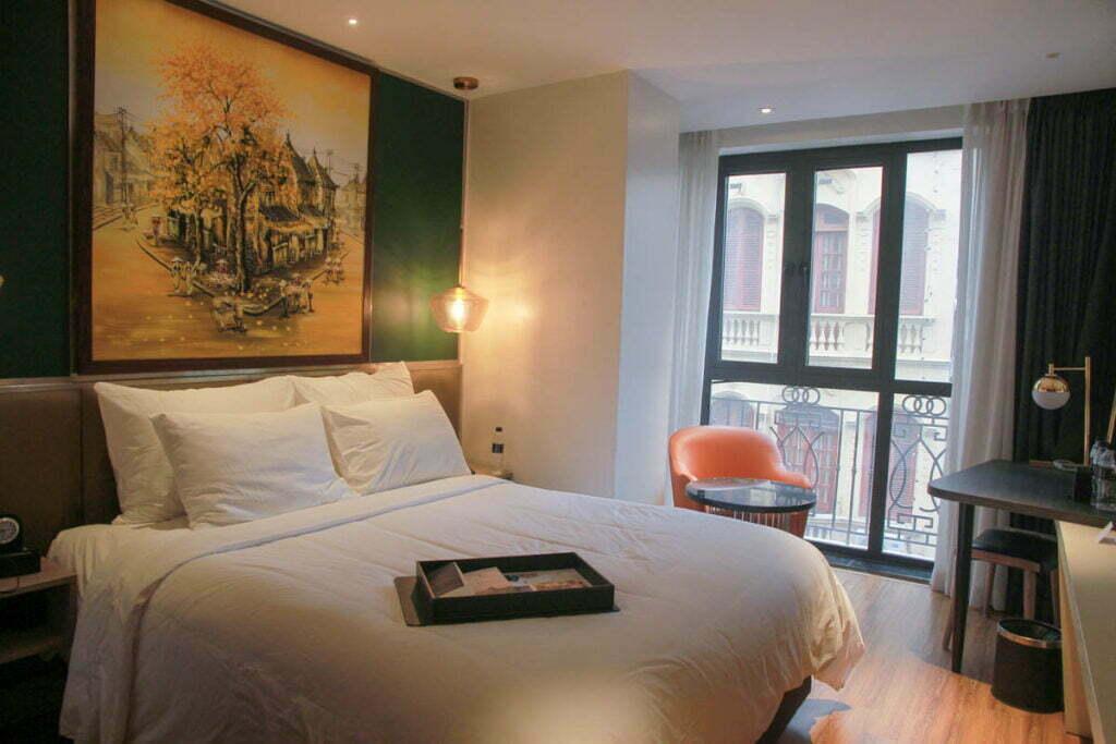 phòng khách sạn trung tâm phố cổ Hà Nội