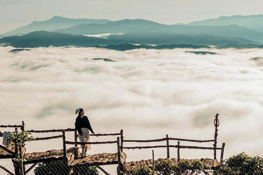 Săn mây và đón bình minh ở Đà Lạt